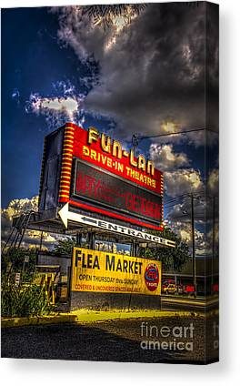 Flea Market Canvas Prints