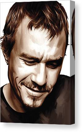 Heath Ledger Canvas Prints