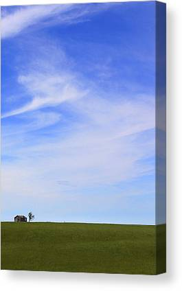 House On The Hill Canvas Prints