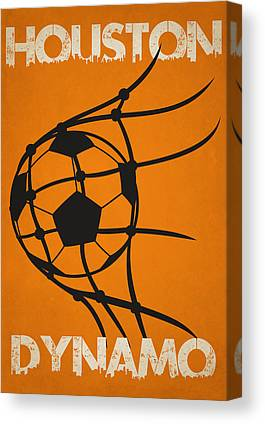 Houston Dynamo Canvas Prints