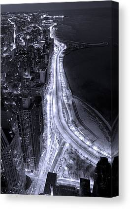 Lake Shore Drive Canvas Prints