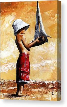 Sailer Canvas Prints