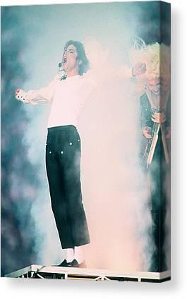 Michael Jackson Photographs Canvas Prints