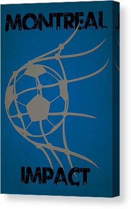 Montreal Impact Canvas Prints