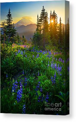 Mountain Peak Canvas Prints