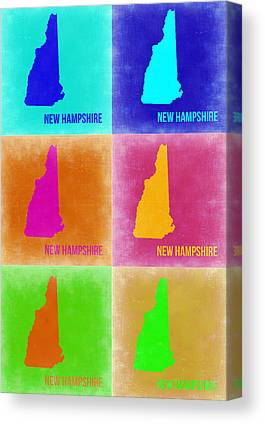 New Hampshire Canvas Prints