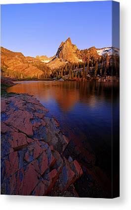 A Summer Evening Photographs Canvas Prints