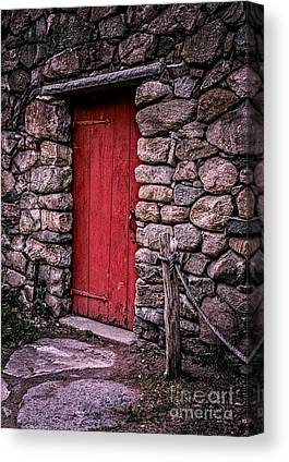 Wayside Inn Grist Mill Canvas Prints