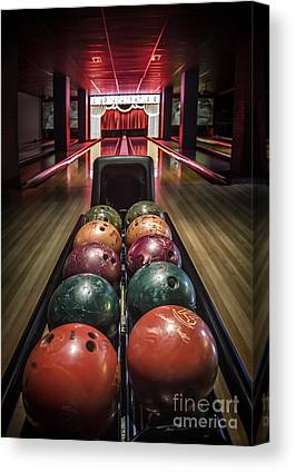 Bowling Ball Canvas Prints