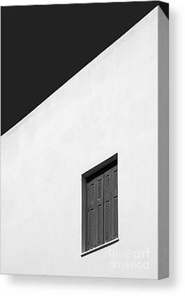 Black And White. Mono. Monochromatic Canvas Prints