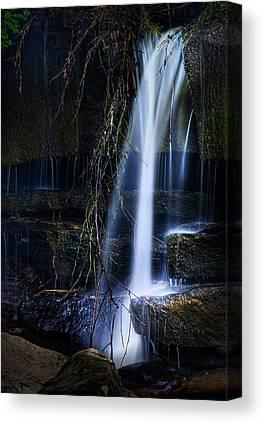 Falling Water Creek Canvas Prints