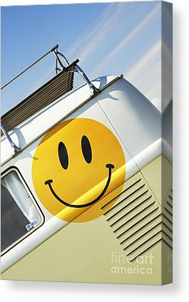 Smiling Canvas Prints