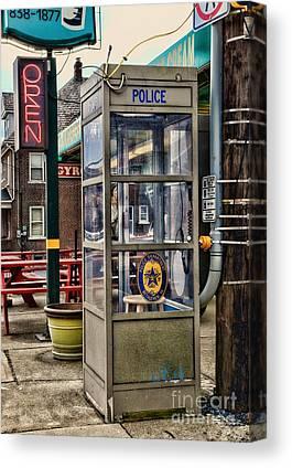 Police Traffic Control Canvas Prints