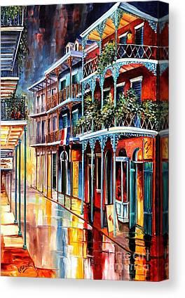 French Quarter Canvas Prints