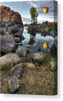 Watson Lake Canvas Prints