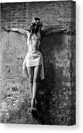 Crucifiction Canvas Prints