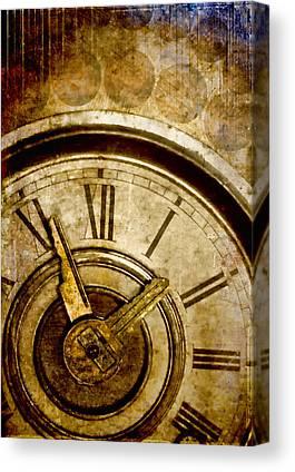 Clock Canvas Prints