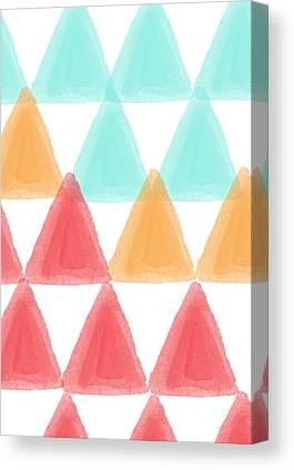 Triangles Canvas Prints
