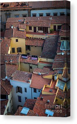 Italy Rooftops Canvas Prints