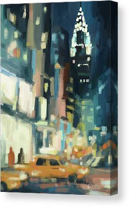 42nd Street Canvas Prints