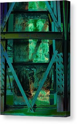 Stahlwerk Digital Art Canvas Prints
