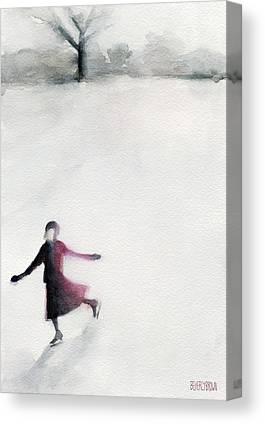 Figure Skating Canvas Prints