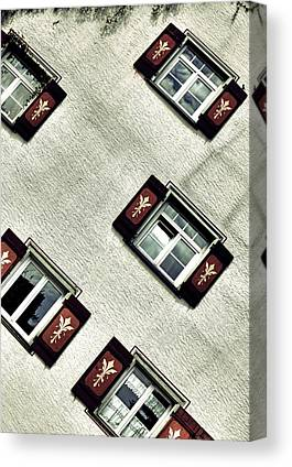 Nice House Canvas Prints