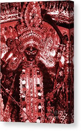 Warrior Goddess Photographs Canvas Prints