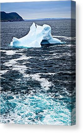 Icebergs Canvas Prints
