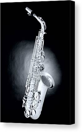 Saxophone Photographs Canvas Prints