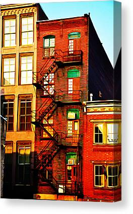 Fireescape Canvas Prints