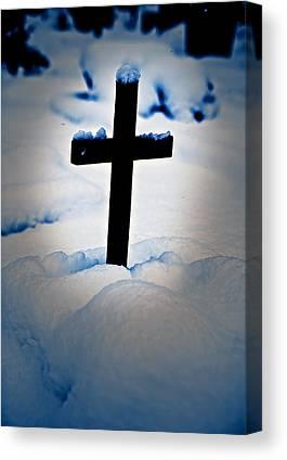 The Wooden Cross Photographs Canvas Prints
