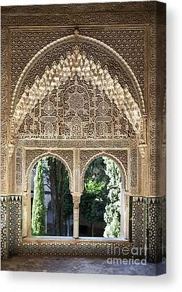 Alhambra Canvas Prints