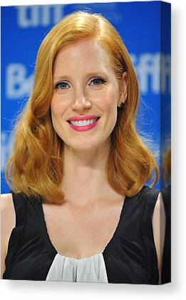 Jessica Chastain Canvas Prints