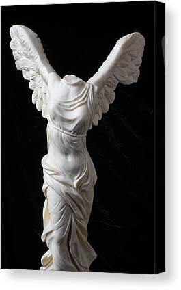Greek Goddess Nike Canvas Prints