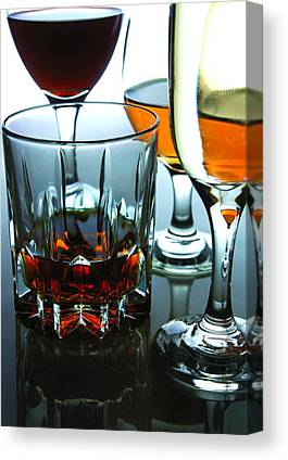 Red Wine Canvas Prints