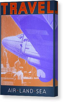 Terminal Drawings Canvas Prints