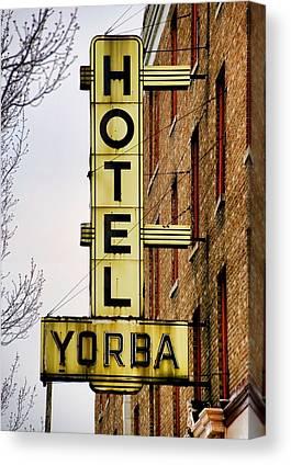 Hotel Yorba Canvas Prints