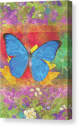 Butterfly Garden Canvas Prints