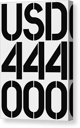 444 Canvas Prints