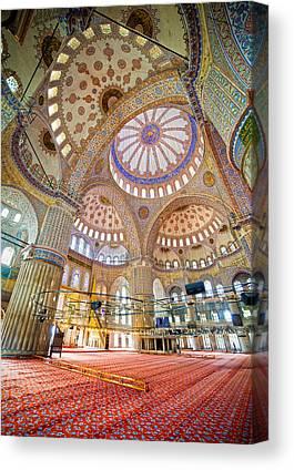 Sultan Ahmet Camii Canvas Prints