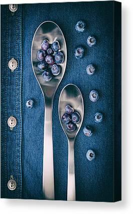 Blueberries Canvas Prints