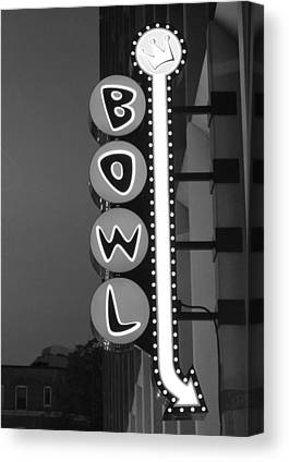 Bowling Canvas Prints