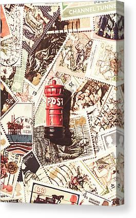 Postbox Canvas Prints