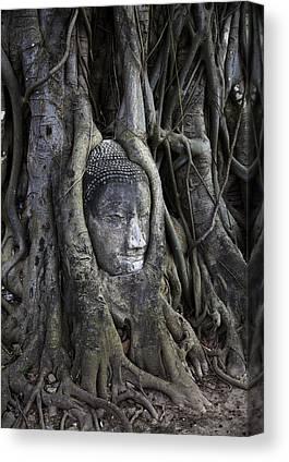 Ayutthaya Canvas Prints