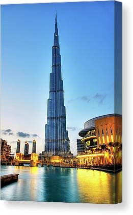 Dubai Skyline Canvas Prints