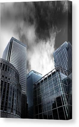 Docklands Photographs Canvas Prints