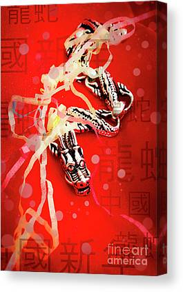 Chinese New Year Photographs Canvas Prints
