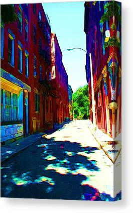 Colorful Place To Live Canvas Prints