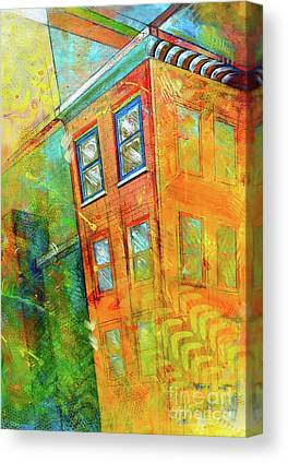Abstract Building Canvas Prints